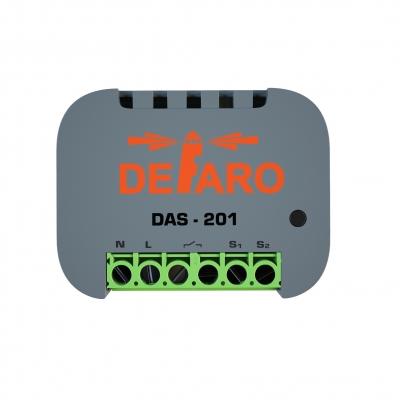 Одноканальное реле DEFARO DAS-201