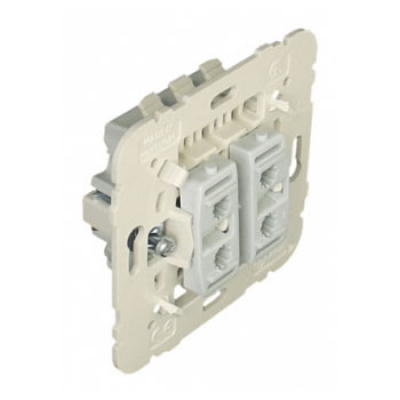 Выключатель кнопочный 2-x клавишный Efapel